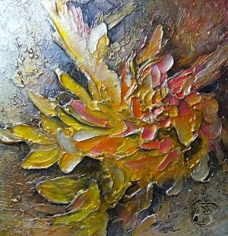 Effusion 20x20'' 2011 350$ atelier Joliette sur rendez vous perreaultdoucet@hotmail.com