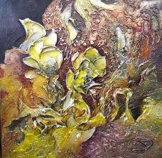 Frénésie 20x20''350$ par Josée Perreault