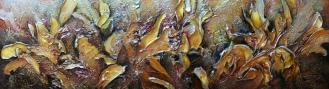 Tumulte couleur de miel 48x16'', Prix 500$